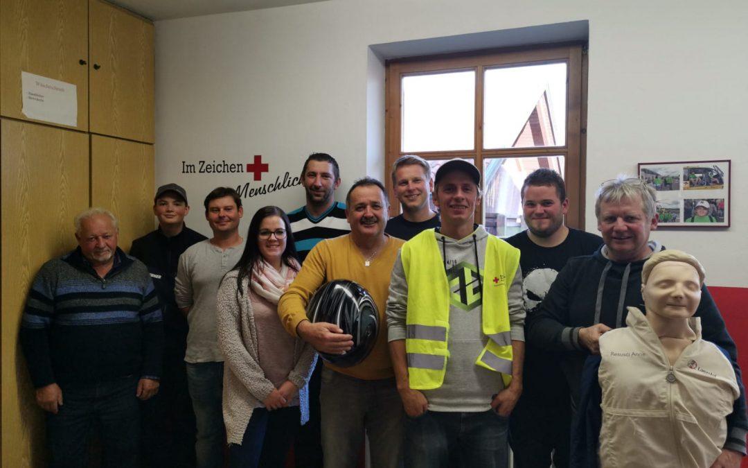 Erste Hilfe Kurs vom Bayerischen Roten Kreuz